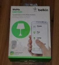 Belkin Wemo Switch Wi-Fi Works Echo Alexa Nest Android IOS Brand New