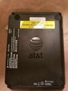 "AT&T Motorola NVG510 Internet Wireless 4-port Modem Router ""No Power Cord"""