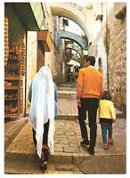 Jerusalem: Via Dolorosa - Family. Israel, Palestine Rare Postcard