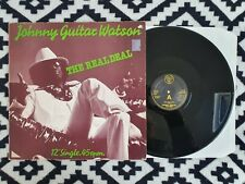 "Johnny Guitar Watson - The Real Deal / Tarzan ORIG UK DJM 12""!! Funk Disco"