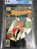 Spider-Woman # 1 CGC 9.8 WP Origin of Spider-Woman