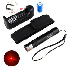 650nm Red Laser Pointer Light Pen 850 Lazer Beam High Power 5mw 16340 CH Holder