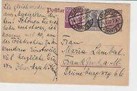 germany 1922 stamps post card ref 19947