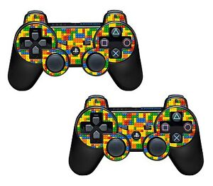 2x Lego Brick Playstation 3 (PS3) Controller Sticker / Skin / 3ps2