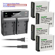Kastar Battery AC Rapid Charger for DMW-BLG10 DMW-BLG10E Panasonic Lumix DMC-GX7