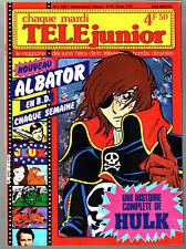 TELE JUNIOR n°13 ¤ 1981 ¤ ALBATOR / HULK / SCOUBIDOU