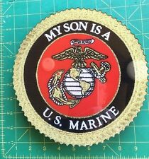 USMC Wall Plaque, My Son Is a US Marine. Mint condition, still in PX box