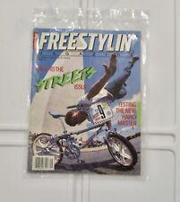 vintage oldschool freestyle magazine bmx plus sept 1985 haro