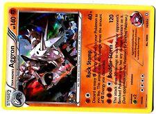 POKEMON XY7b (Double Crisis) HOLO N° 14/34 AGGRON 140 HP Attack 120