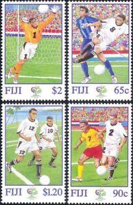 Fiji 2006 Football World Cup Championships/WC/Soccer/Sports 4v set (n15870)