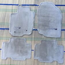 2006 - 2012 TOYOTA RAV4 GENUINE OEM CARPET FLOOR MATS Mat  Light Beige