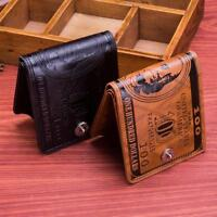 New Card Holder Handbag PU Leather Purse Wallet Bifold