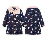Cartoon Lady's Polyester Fiber Long Sleeve Night-Robe/Sleepwear 6 8 10 12 14 &