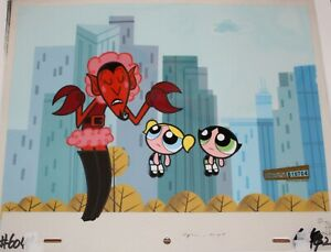 Original production cel - Power Puff Girls (Cartoon Net)