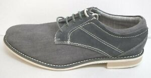 Steve Madden Size 8 Leather Canvas Oxfords New Mens Shoes
