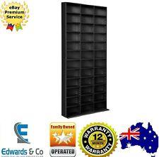 1116 CD 528 DVD Storage Shelf BLURAY Media Stand Book Cupboard Rack Unit Shelves