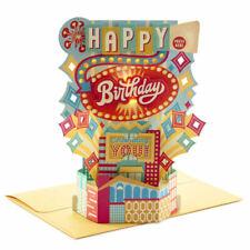 Hallmark Celebrating You 3D Pop-Up Musical Birthday Card With Light