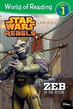 World of Reading Star Wars Rebels: Zeb to the Rescue: Level 1 - Acceptable - Mic