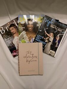 LOT Wedding Planner Organizer Pink Diary Engagement Gifts The Knot Manhattan Mag