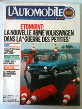 L'AUTOMOBILE 337 du 6/1974    L'arme V W/ 24h du Mans
