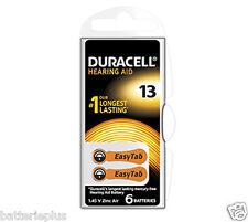 6 Stück Duracell 1,4V Hörgeräte Batterien 13 AT