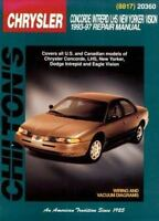 Chrysler Concorde, Intreped, LHS, New Yorker, and Vision, 1993-