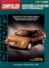 Chrysler Concorde, Intreped, LHS, New Yorker, and Vision, 1993-97 (Chilton's
