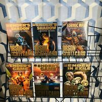 6 Marvel Enders Game/Shadow Hardcover Lot Command Fight School Formic Wars