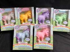 35TH ANNIVERSARY MY LITTLE PONY COMPLETE SET OF 6 BRAND NEW IN HAND FREE SHIP
