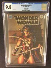 WONDER WOMAN #750 Comic CGC 9.8 Convention FOIL Edition Jim Lee Cover 2010's Var