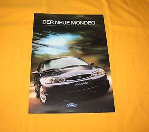 Ford Mondeo 1996 Prospekt Brochure Catalogue Depliant Prospetto Prospecto