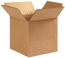 Lot 50 3 X 3 X 3 Inch Box Small Corrugated Cardboard Boxes Free Shipping