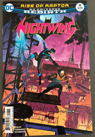 DC Comics Nightwing Rebirth #8 Dick Grayson Batman Bludhaven Raptor 2016 NM