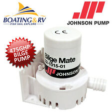 12V Bilge Water Pump JOHNSON Marine Boat Jet Ski Submersible Electric 475gph/30L