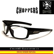 CHOPPERS Gafas de Dia Noche UVAB Moto Biker day night glasses lunettes occhiali