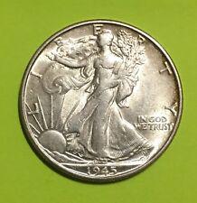 1945-S Walking Liberty Half Dollar, Choice BU, Tough Date