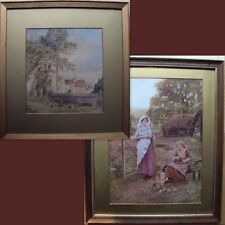 Antique (Pre-1900) Art Landscape Paintings