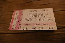 Billet Grateful Dead 1993 USA