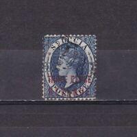 ST. LUCIA 1882, SG# F15, CV £50, Revenue, Perf 14, Used