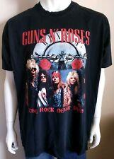 GUNS N ROSES mens size XXL tshirt The Rock Never Dies band print shirt