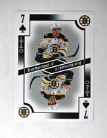 2017-18 O-Pee-Chee OPC Playing Card #7-SPADES Brad Marchand