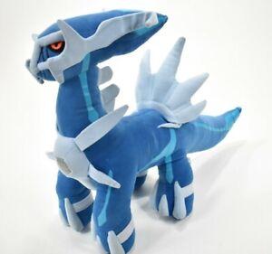 "Rare Dialga Pokemon Takara Tomy HUGE Plush 20"" Doll Japan Blue Gray Red"