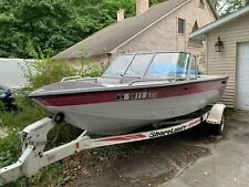 "1995 Crestliner 1750 17'6"" Bowrider & Trailer - Michigan"