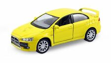 Kinsmart 2008 Mitsubishi Lancer Evo Evolution X 1:36 diecast model Yellow K109