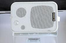 2x MINI-BOX 3 vie altoparlanti con supporto ls-5l3, bianco, 60 Watt b31v
