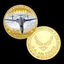 B-1B Lancer airplane printed Coin A1#