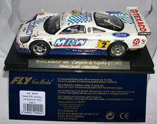 FLY 99004 A267L SLOT CAR SALEEN S7R CHAMPION ESPAGNE GT 2001 AGENCE