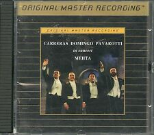 Carreras,Domingo,Pavarotti in Concert MFSL GOLD CD UDCD 587 UII ohne J-Card