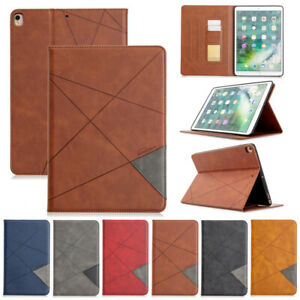 Deluxe Wallet Leather Flip Case Cover For iPad Air 10.5 10.2 Pro 9.7 MIni 2 3 4