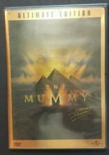 The Mummy (DVD, 2001, 2-Disc Set, Ultimate Edition), EUC